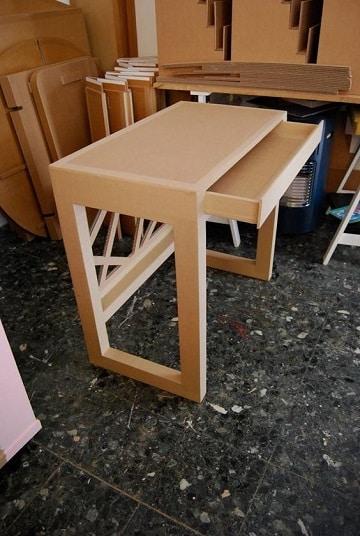muebles en carton paso a paso paea habitacion
