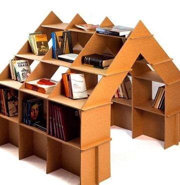 muebles en carton paso a paso para organizar