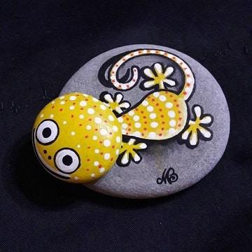 Las piedras de rio pintadas a mano para decorar y regalar - Piedras de rio pintadas ...