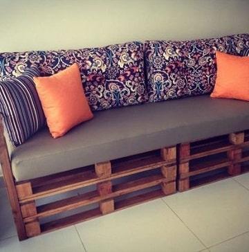 los sillones de tarimas de madera puro ingenio hecho