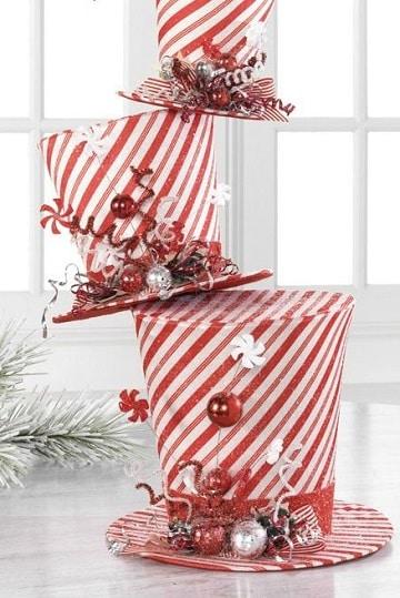 sombreros navideños creativos decoracion