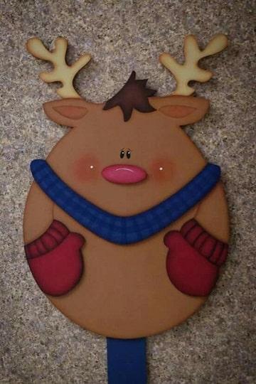 adornos de navidad en foami para puertas ideas