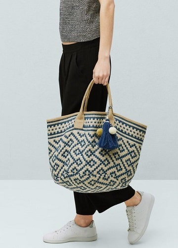 bolsos artesanales de tela de patrones