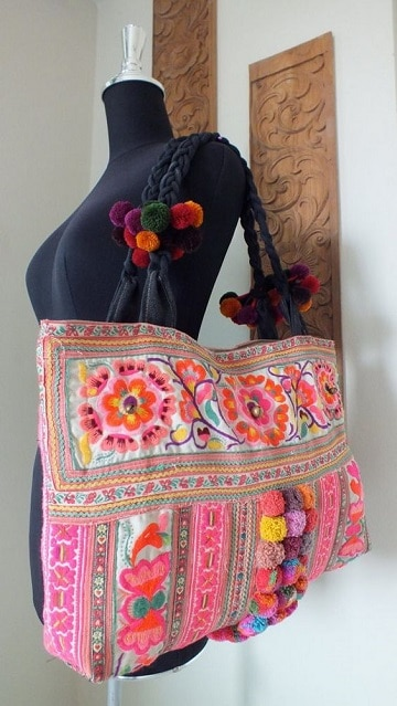 bolsos artesanales de tela ideas