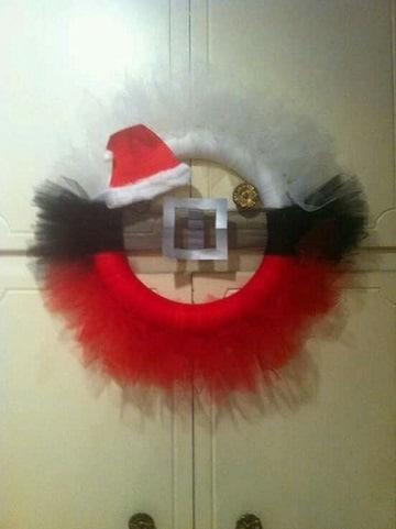 coronas de navidad hechas a mano ideas