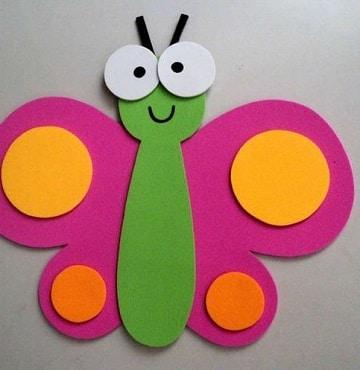 Mira estas imagenes de mariposas en foami y ponte a - Pinturas para goma eva ...