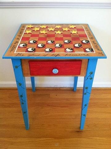 juegos de mesa para hacer a mano damero