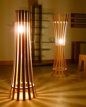 lamparas recicladas faciles de hacer con bambu
