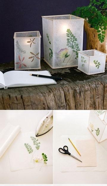 lamparas recicladas faciles de hacer con papel