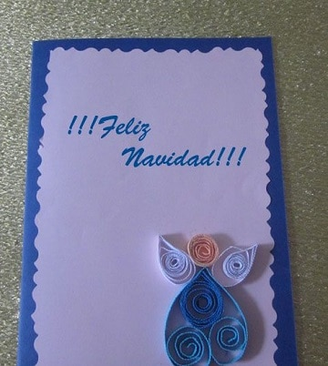 Las tarjetas de navidad artesanales para regalar y decorar - Tarjetas de navidad artesanales ...
