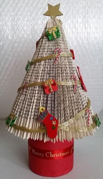 arboles navideños artesanales creativos