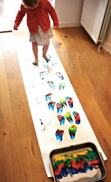 artisticas manualidades para niños de 1 a 2 años