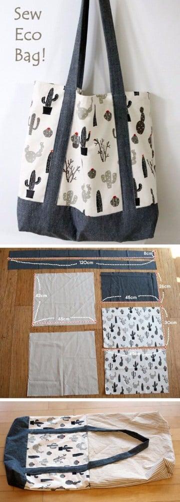 Diferentes tipos de bolsos de tela hechos en casa para ellas manualidades para hacer en casa - La casa de los bolsos ...