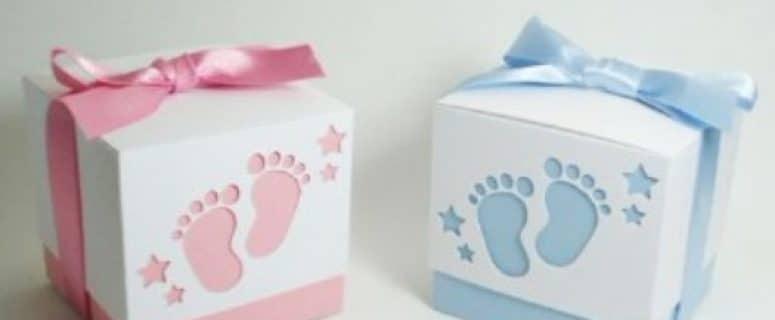 como decorar una caja de carton para guardar ropa de bebe ...