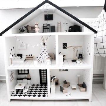 casitas de madera para barbies modenas