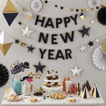 como decorar para año nuevo hecho en casa