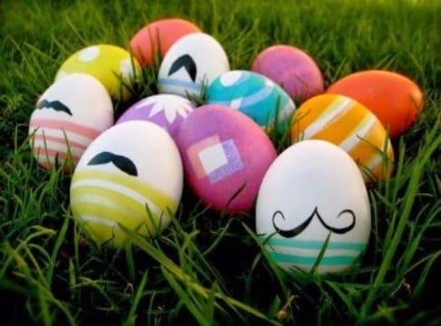como pintar cascarones de huevo originales