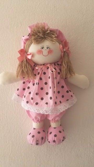 como se hace una muñeca de trapo linda