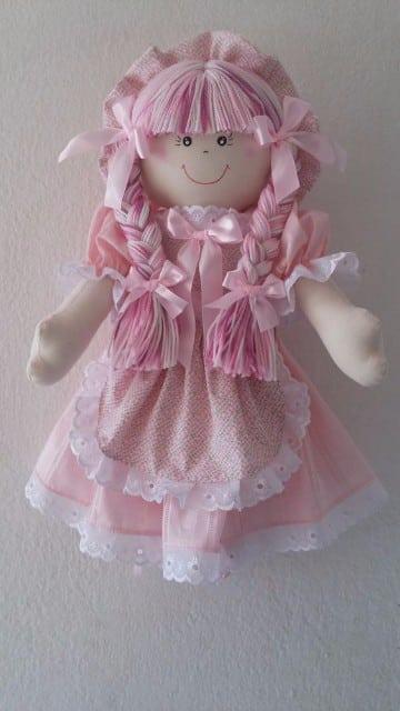 como se hace una muñeca de trapo para niñas