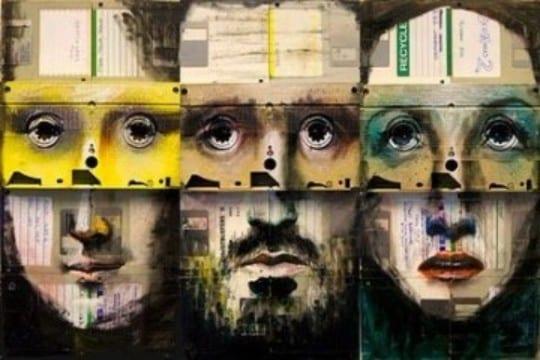 cuadros reciclados originales creativos