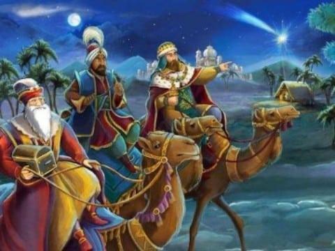 donde estan los reyes magos en camello
