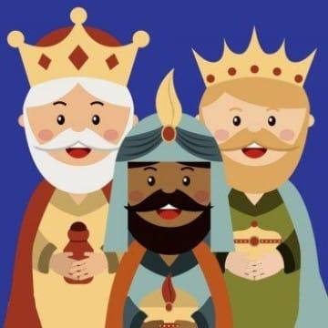 donde estan los reyes magos ilustrados