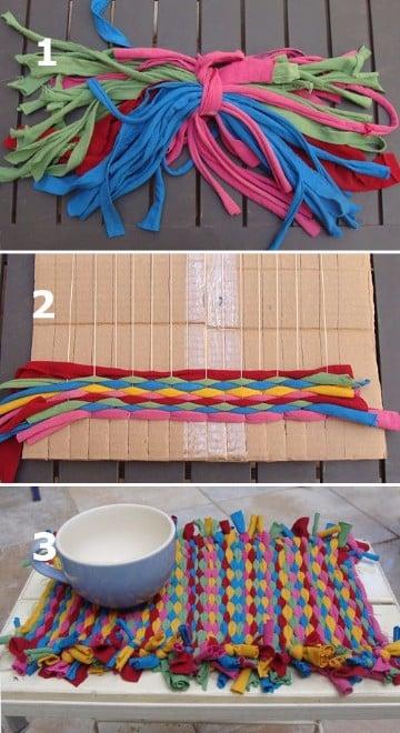 ideas con retazos de tela de colores