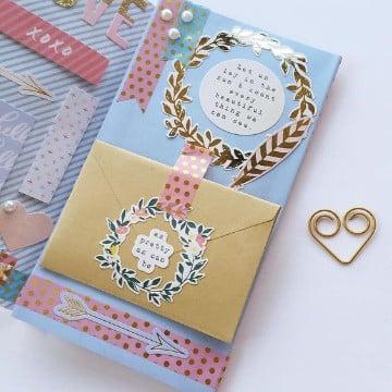 ideas para decorar una carta original