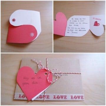 ideas para decorar una carta romantica