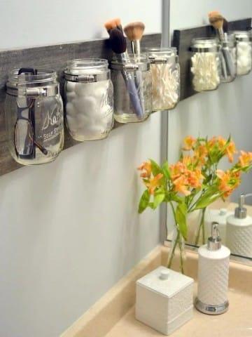 ideas para el hogar reciclando frascos