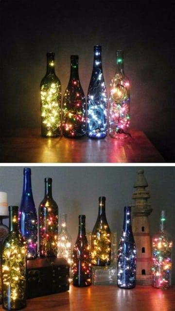 luces de adornos para año nuevo