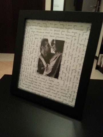 manualidades de amor para regala con foto