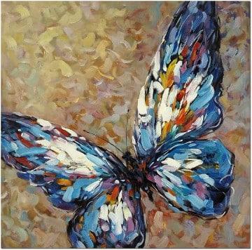 pinturas de mariposas al oleo creativas