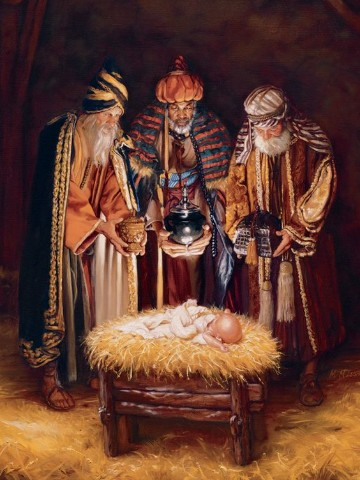 regalos de los reyes magos a jesus en diciembre