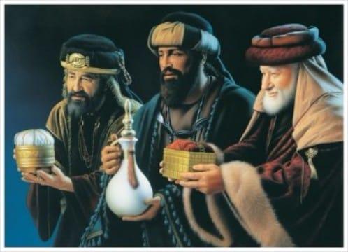 regalos de los reyes magos a jesus en su nacimiento
