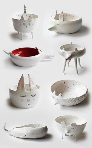 adornos de ceramica para cocina originales