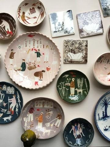 ceramica artesanal rustica hecha a mano