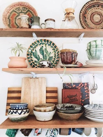 ceramica artesanal rustica pintada