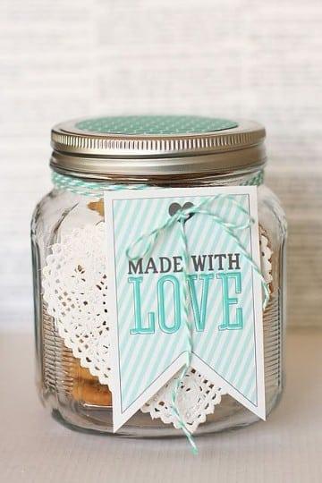 como adornar tarros de cristal amor