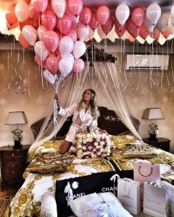 como decorar un cuarto para cumpleaños con globos
