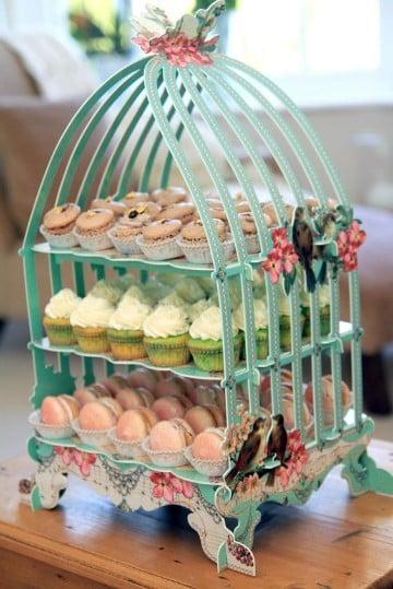 como hacer bases para mesa de dulces jaula