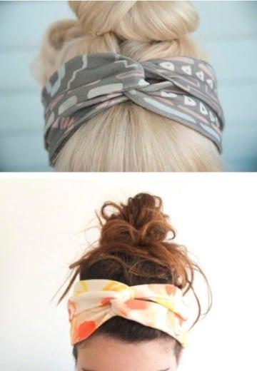 como hacer cintas para el pelo para mujer