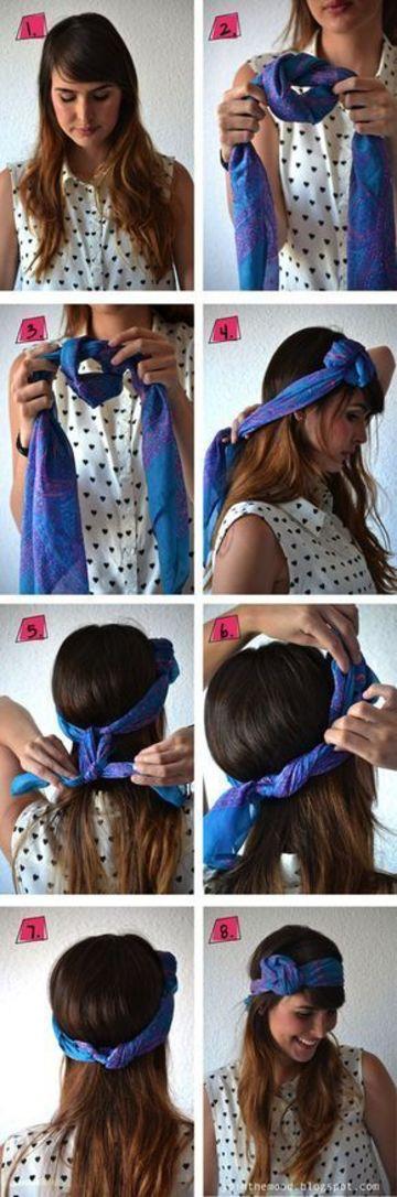 como hacer turbantes paso a paso hecho a mano