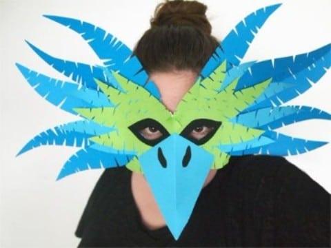 como hacer un antifaz de carnaval creativos