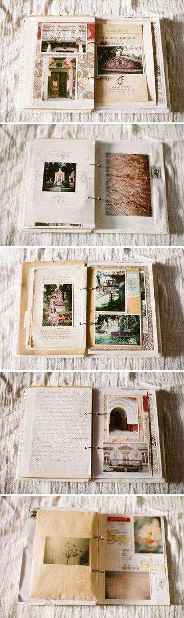 como hacer un libro de fotos en casa