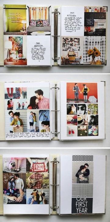 como hacer un libro de fotos para parejas