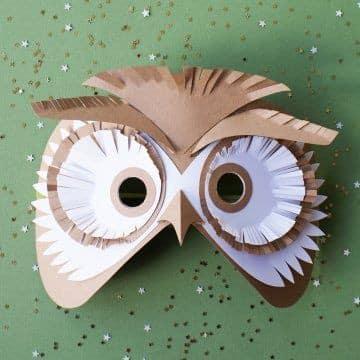 Ideas sobre como hacer una mascara de cartulina diferente - Como hacer una mascara ...