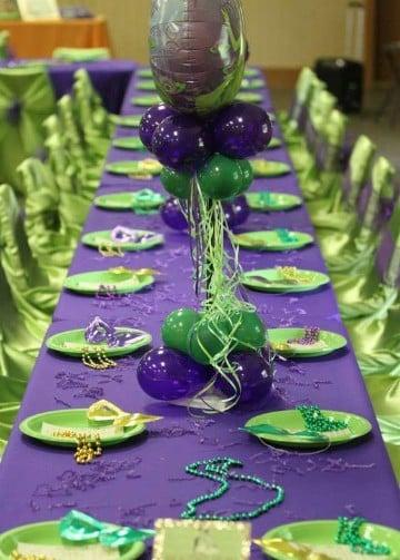 decoracion de carnaval para fiestas de colores