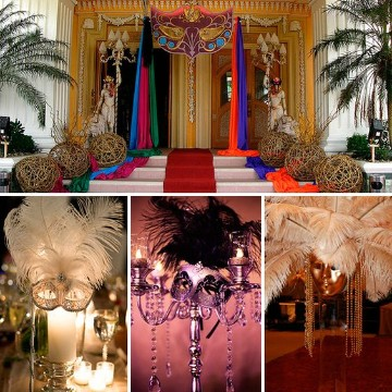 decoracion de carnaval para fiestas elegantes