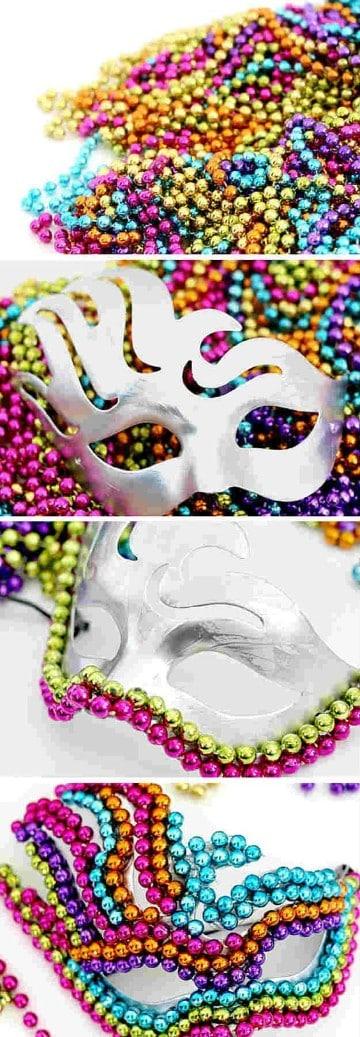 ideas para hacer mascaras coloridas